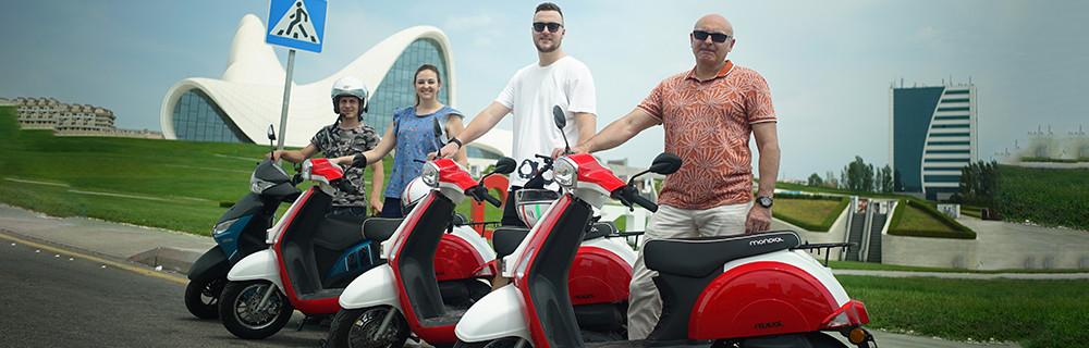 Baku City Scooter Tour