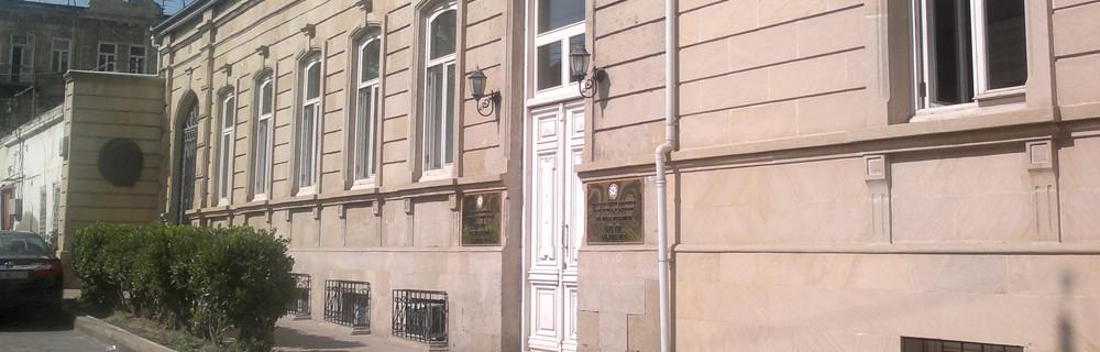 The house-museum of Uzeir Hajibeyli